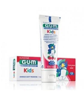 GUM DENTIFRICE KIDS 2 À 6 ANS