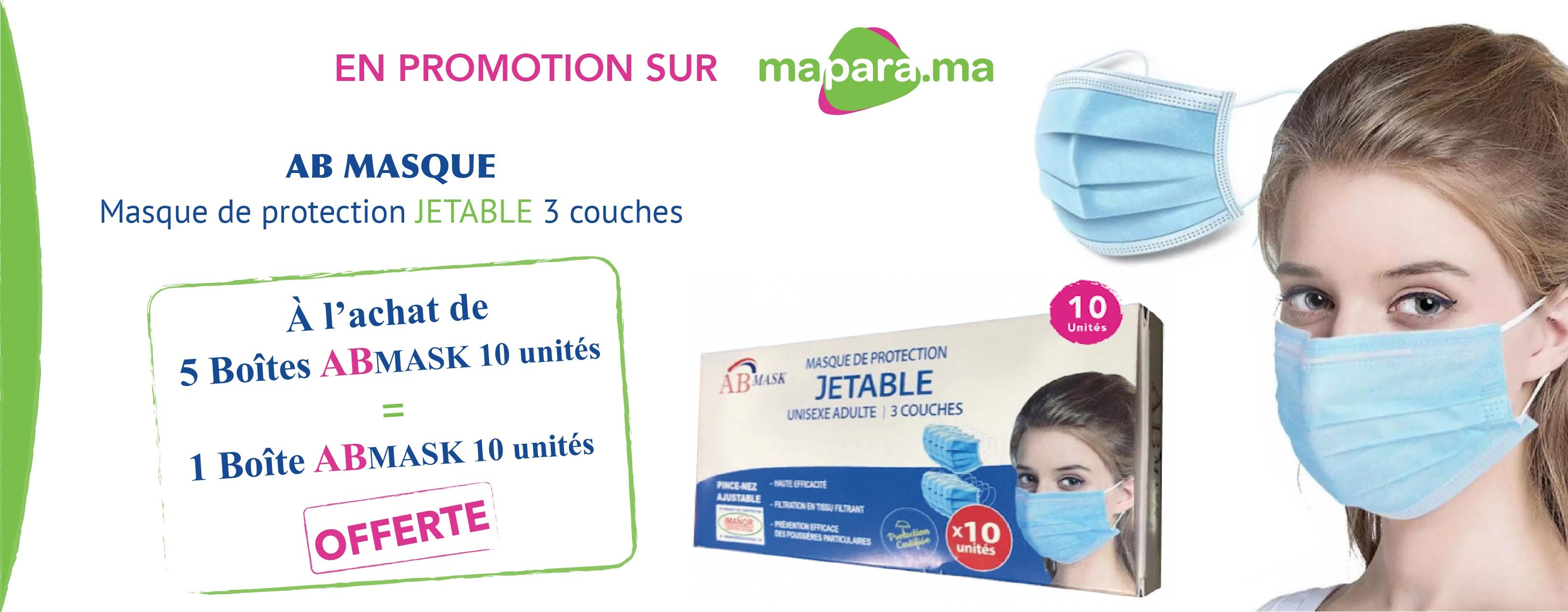 promotions masque